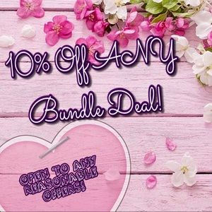 Bundle to save or send reasonable offer!!!!